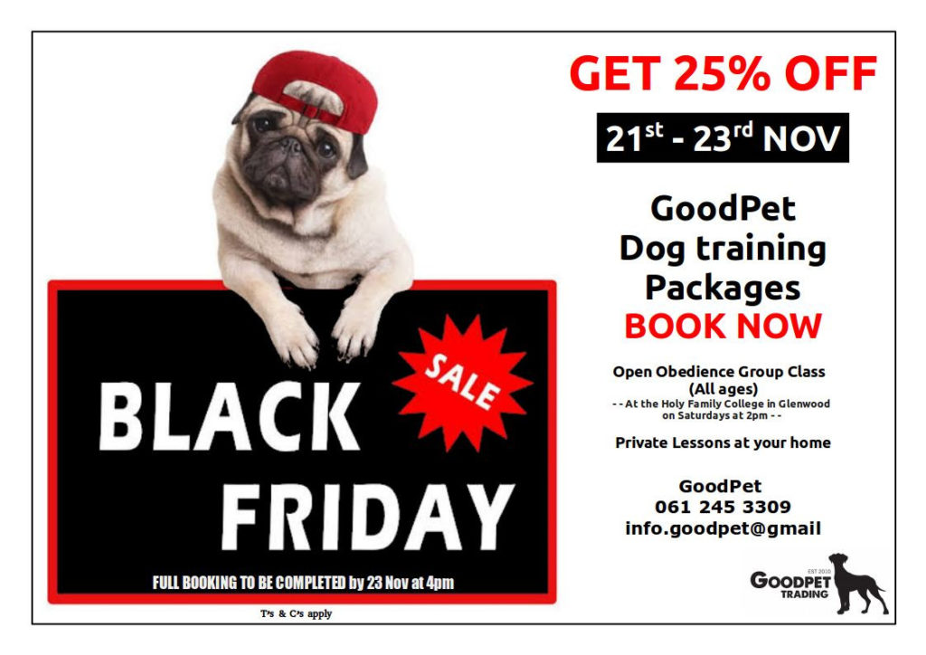 GoodPet Black Friday Special